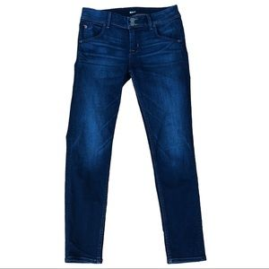 HUDSON Collin Flap Skinny Ankle Stretch Jeans